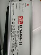 Mean Well Driver Hlg-240h-48b Led Dimmable Input 100-277v Output 48v 5.0a