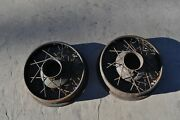 1920and039s 1930and039s Antique Vintage Wire Wheel 17 Dayton Auburn Pair 48 Spokes