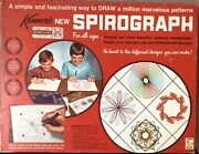 Vintage Kenner Spirograph Drawing Kit, Everything's Here Except The Pens