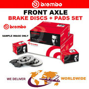 Brembo Front Brake Discs + Pads Set For Mercedes Clk Cabrio Clk 63 Amg 2006-2010