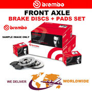 Brembo Front Axle Brake Discs + Brake Pads Set For Ford Gt 5.4 2003-2006