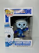 Funko Pop Snow Miser 01 - The Year Without A Santa Claus - Vaulted - Grail