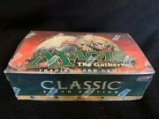 Mtg Magic The Gathering English Classic Sixth Edition Booster Box New And Sealed