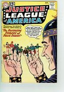 Justice League Of America 10 Vg/fn/5.0 - 1st Appearance Of Felix Faust
