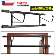 Pull Up Bar Chin-up Bar Exercise Door Doorway Home Gym Workout Fitness Training
