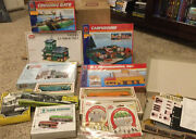 H O Scale Trains And Buildings Lot