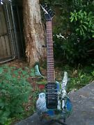 1996 Jackson Ps-4 Dinky Super Strat Performer Series W Hard Case. Made In Japan