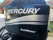 Mercury Boat Motor Cowl Decal Set Silver Stripe + Size Choices New
