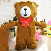 2m 2.5m 3m Teddy Bear Inflatable Mascot Costume Suits Cosplay Outfit Advertising