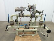 3 Flanged Pipe, Valve Control Station, Process Piping Bypass Valve