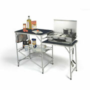 Kampa Dometic Colonel Field Kitchen Unit Fold-up Stand Camping Tent Awning 2021