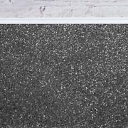 Super 20mm Thick Luxurious Dark Grey Action Back Saxony 5m Wide Carpet Andpound48.99mandsup2