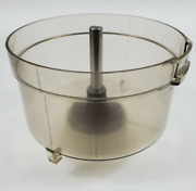 Vintage Ge General Electric D5fp-1 Food Processor Replacement Bowl And Driveshaft