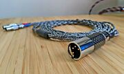 G.s.audio Litz Occ Ultra Pure Silver Balanced Cable For Focal Utopia 6ft