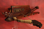 Rare Antique Chinese Dynasty Repeating Crossbow Style Of A Dragon No Sword