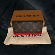 Louis Vuitton Woody Glasses Case Authentic With Tags Sold Out