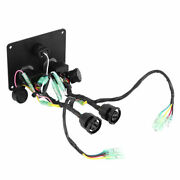 12v Dual Key Switch Panel Control Assembly For Yamaha Outboard Engine 6k1-82570