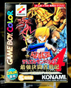 Yu-gi-oh Gameboy Color Duel Monsters 4 2000 G4 Factory Sealed Promos Inside 🎁