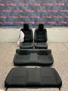 2014 Camaro Ss Coupe Oem Black Cloth Front Rear Seats -one Blown Bag-