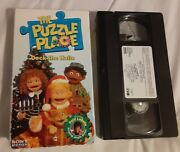 The Puzzle Place-deck The Halls Sony Vhs 1994 Rare Vintage Collectible