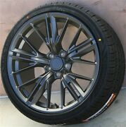 Set4 20 20x10/20x11 5x120 Wheel And Tire Package Chevy Camaro Ss Rs Ls Zl1 Z28