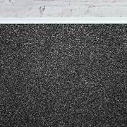 Super 20mm Thick Luxurious Black Grey Action Back Saxony 5m Wide Carpet Andpound48.99mandsup2