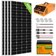 1kw 2kw Solar Panel Kit Power System With Lifepo4 Battery 3000w Inverter