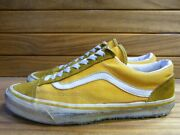 Made In Usa 80s Vintage Sneakers Old School Yellow Menand039s Shoes Size Us8.5