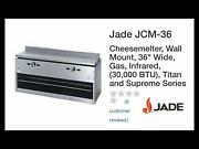 Jade Jcm-36 Cheesemelter Wall Mount 36andrdquo Wide Gas Infrared