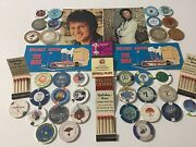 Vintage Lot Of 33 1 Casino Chips Rio And Ballyandrsquos Silver Coins And Other Stuff