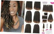 12 Inch Spring Twist Crochet Hair 6 Packs Jamaican Bounce 12 Inch 6packs T1b/27