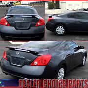 For 2008-2011 2012 2013 Nissan Altima 2dr Coupe 2 Post Style Spoiler Unpainted