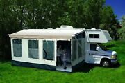 Waterproof Pvc Camper Rv Awning Canopy Patio Camping Enclosure Tent New
