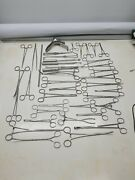 Vintage Lot Of Orthopedic Surgical Medical Tools Instruments Stainless Steel