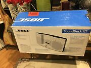 New Bose Sounddock Xt Speaker White And Gray For Iphone 6/7/8/10 New Bose Sound