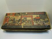 Vintage 1950's Marx Roy Rogers Rodeo Ranch No.3990 Play Set W/box