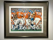 Broncos Mile High Broncos Sn Limited Edition Serigraph Signed By John Elway
