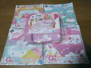 Kirby Cloudy Candy Prize C Fluffy Blanket And Towel 4pics Japanese Anime Unopened