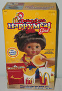 Mcdonaldand039s Rare Vintage 1997 Happy Meal Girl African American Doll New