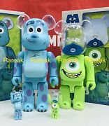 Medicom Bearbrick Disney Pixar Monsters Inc Sulley And Mike 400 + 100 Be@rbrick