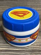 Vintage Thermos Dc Comic Superman Hot Soup Drink Travel Thermos