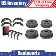 For 1967 Oldsmobile Cutlass Front And Rear Brake Drums And Brake Shoes