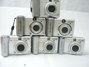 Canon Powershot A80 A60 A75 A70- Silver Untested Parts Lots