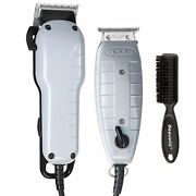 Andis Barber Combo 66325 Clipper And T Outliner Trimmer With Beauwis Blade Brush