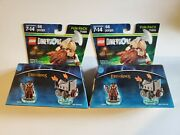 2 New Lego Dimensions 71220 Lord Of The Rings Gimli And Axe Chariot Set Lot