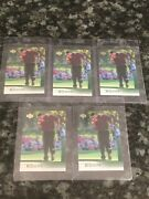 Lot5 2001 Upper Deck Golf Tiger Woods Rookie Rc 1 Mint Great Investment