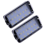 Hot 2x 18 Led Number License Plate Light Fit For Seat Ibiza Mk3 6l 2003-2008