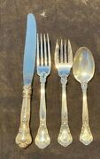 Gorham Chantilly Sterling Silver Flatware Set Service For 4 With 4 Pieces Per