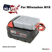 Milwaukee M18 Battery Adapter Dock With Soft Wires Power Wheels Diy Robotics