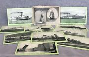Singer Souvenirs Trade Cards Marine Series Steamships Singer Sewing Machines